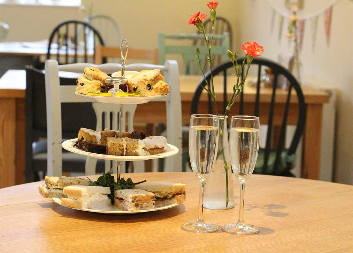 Mother's Day Afternoon Tea at Bee's Tea Room