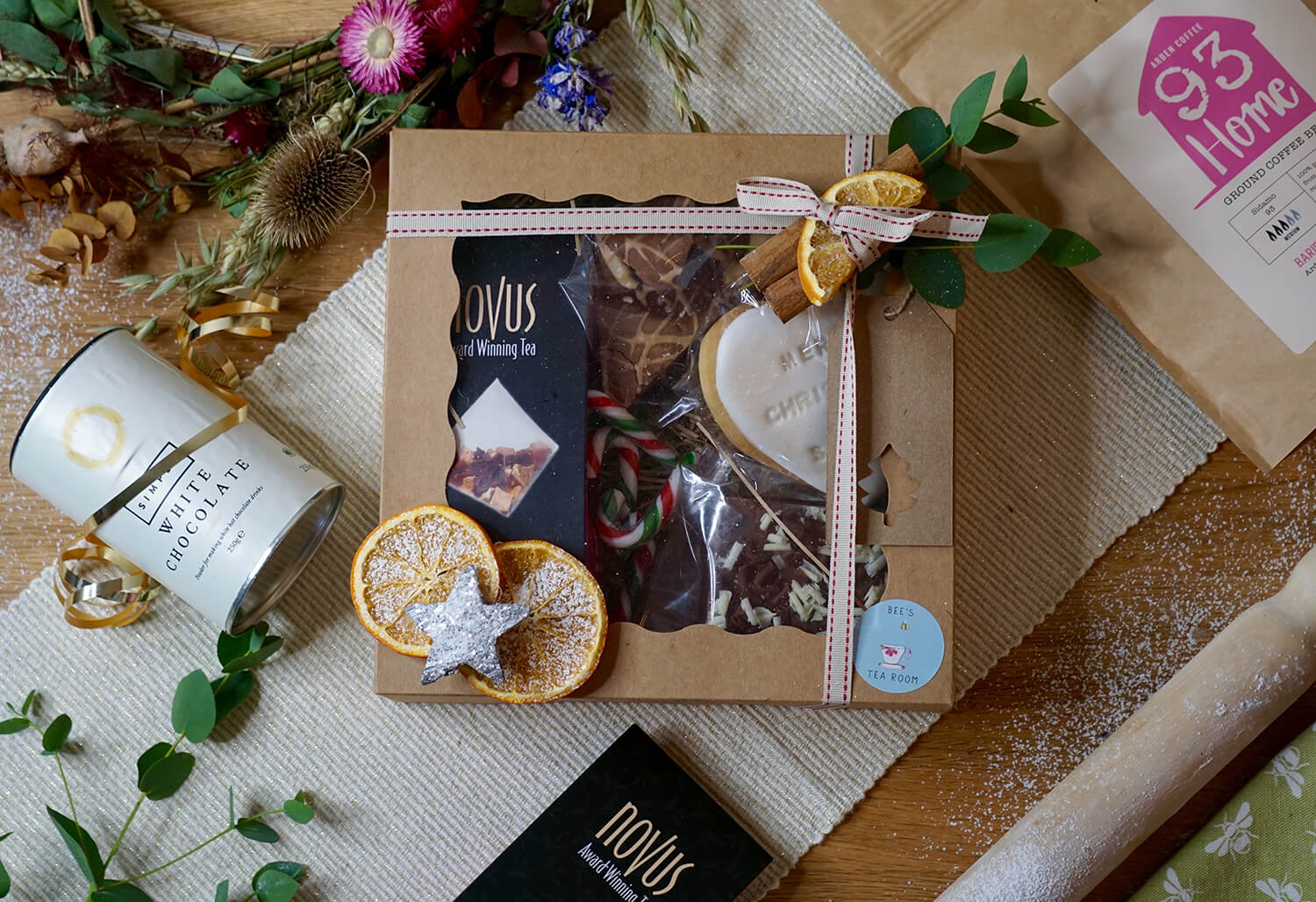 Christmas Gift Box from Bee's Tea Room